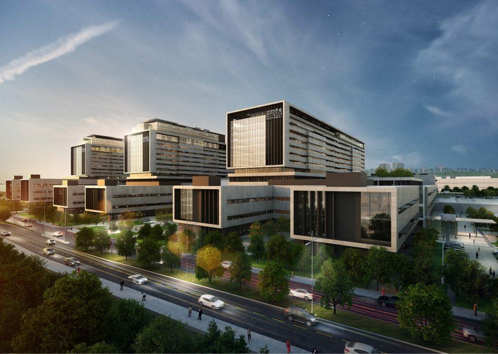 Baubeginn des Istanbul Basaksehir City Hospital …
