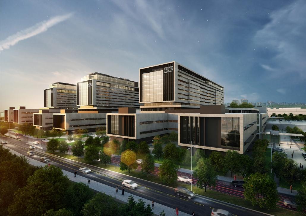 İstanbul Başakşehir Şehir Hastanesi Şantiye Çalışmaları Başladı…